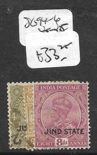 INDIA JIND (P0310BB) KGV SG 94-6 VFU