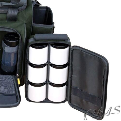 Spar Set Karpfenset Karpfen Futteral 210CM /& Luxus Karpfen Tasche Dip Gläser Sha