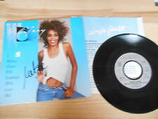 "7"" Pop Whitney Houston - I Wanna Dance With Somebody ARISTA / Presskit"