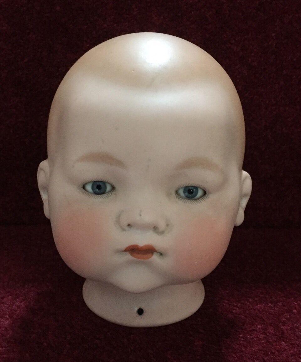 Porcelana antigua vida como muñecas del bebé Head-a.m. recojo Alemania 341 8 Armand Marseille