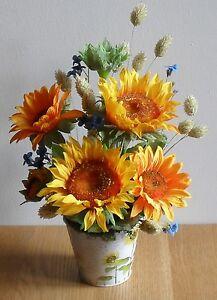 Fiori Matrimonio Rustico : Seta artificiale girasole festa della mamma fiori matrimonio