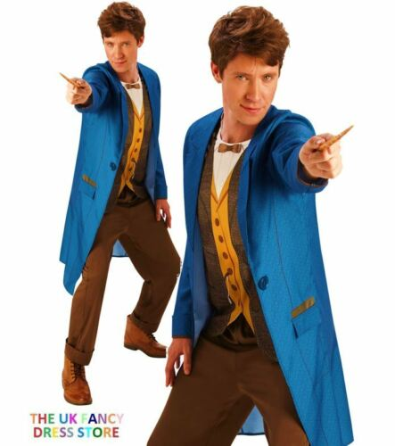 Adult Mens Official NEWT DELUXE Scamander Fantastic Beasts Fancy Dress Book Week