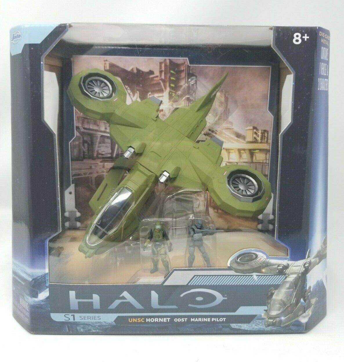 Jada HALO UNSC Hornet ODST Marine Pilot S1 Series