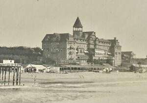 Hotel Arcadia Santa Monica California Los Angeles Beach Real Antique Photograph