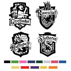 Harry-Potter-Hogwarts-House-Shields-Cut-Vinyl-Sticker-Coats-Of-Arms-Boys-Decals