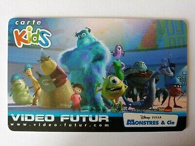 CARTE//CARDS  KIDS VIDEO FUTUR 1001 PATTES GARCON ETAT LUXE
