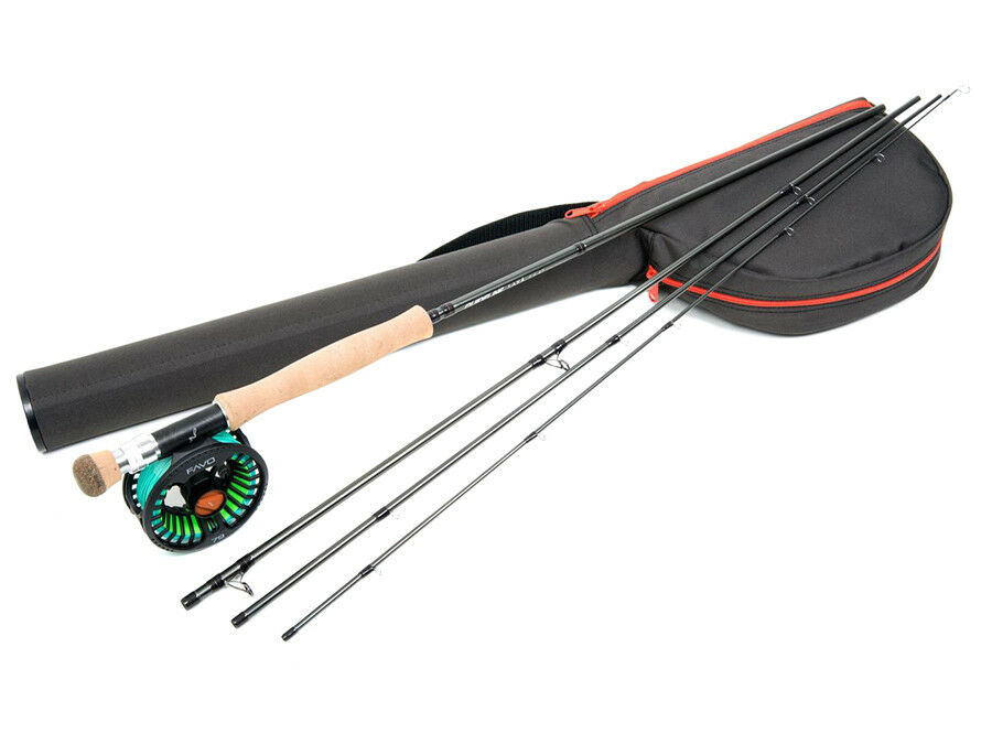 Guideline Laxa Seatrout 9'6ft AFTM #7 Combo Canna-mulinello Pesca a mosca