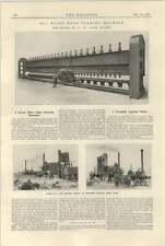 1925 hermanos Glasgow enorme Ribete Máquina Smith