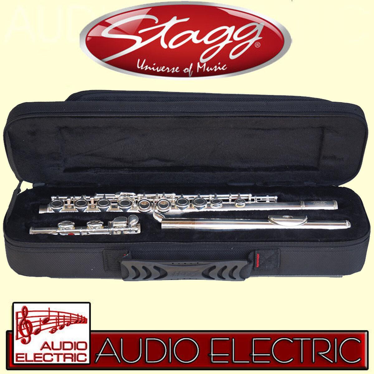 Stagg 77-FE   SC Sopran Querflöte mit Etui