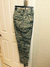 NWT  Genuine Air Force Military BDU's Pants..heavy-duty  28R Camouflage Pattern