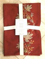 Williams Sonoma Harvest Crewel Place Mats Set Of 4 5 Available Brand