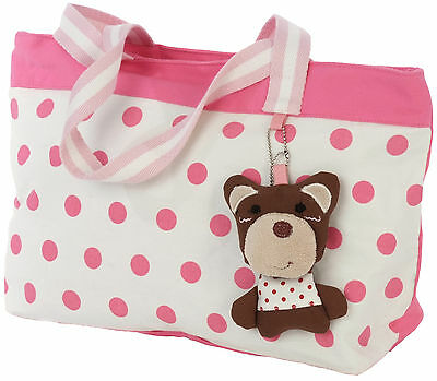 Exclusive to House of Animals Baby Changing Bag + Changing Mat Shoulder Handbag
