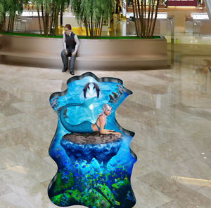 3D Coral Ocean 70 Floor WallPaper Murals Wall Print Decal 5D AU Lemon