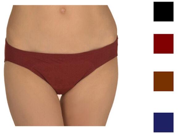 Adira Damen Baumwolle Menstruation Inkontinenz Slip Panty Hotpants Periode Hose