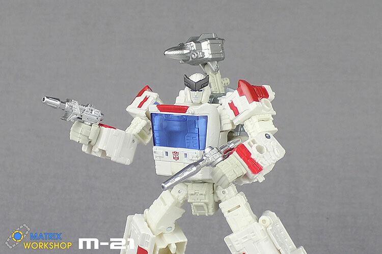 New Transformation Matrix Workshop M-30 Upgrade Kit For Siege Wheeljack