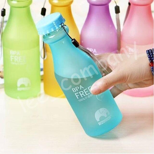 Hot Portable Leak-proof Bike Sports Unbreakable Plastic Water Bottle Jiuce Cup