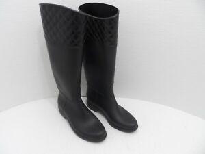 Capelli Tall Black Rain Boots Rubber