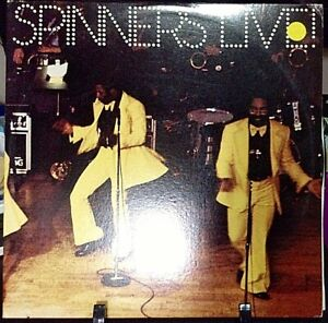 SPINNERS-Live-Doube-Album-Released-1975-Vinyl-Record-Collection-US-pressed