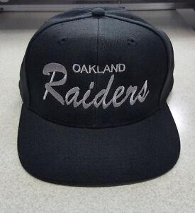 44a5e846fd5e1 Oakland Raiders true vintage caps early 70 s mint!!deadstock big ...