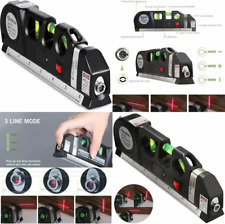 Qooltek Multipurpose Laser Level Line 8 Feet Measure Tape Ruler