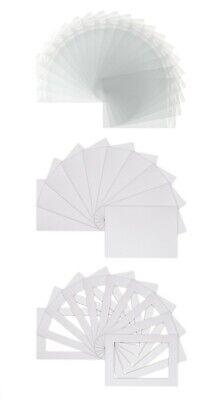 Sample Pack-bespoke Mounts / Picture Mounts / Frame Mounts + Spalle + Sacchetti Chiari- Elegante Nello Stile