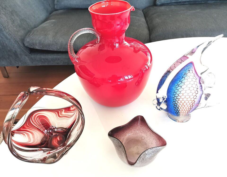 Glas, Vaser, skåle