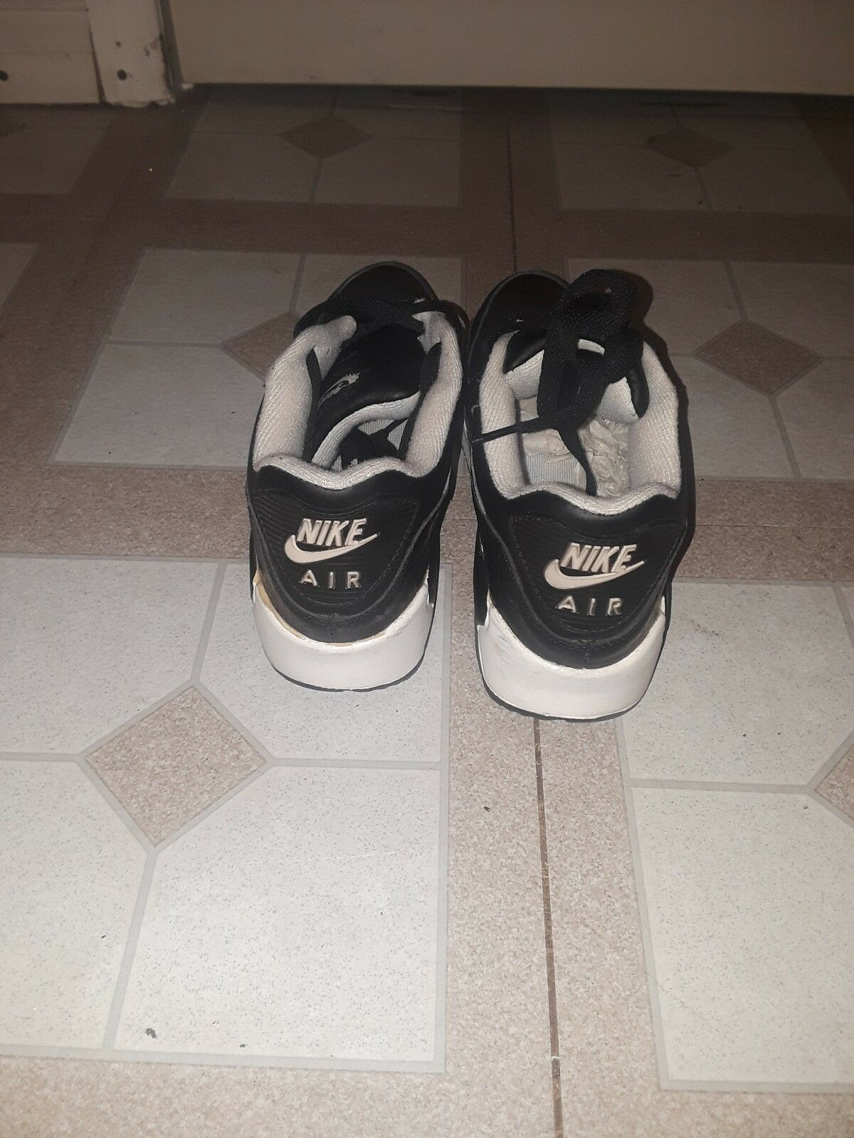 pretty nice 83d6d 0c104 NIKE Air Max Max Max 90 Men s (Size 10) Black White and snake skin