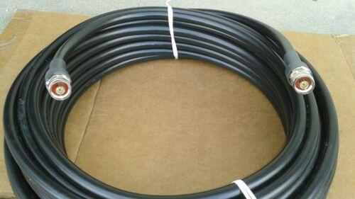 50 ohm RF600 100FT    LMR-600 N Male to  N Male  HAM Radio VHF cable