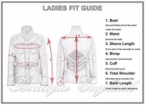 Mesdames Jessica Veste en Cuir Gris Style Motard Véritable Napa Veste en cuir