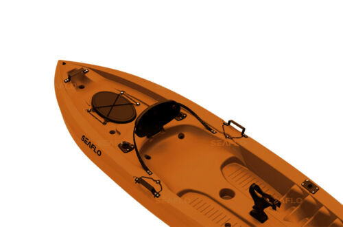 rod holders SF1007 paddle rests back rest 2 hatches SIT ON FISHING KAYAK
