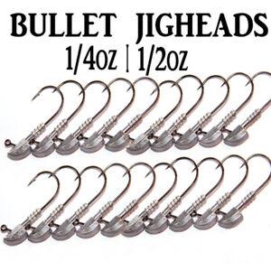 Bullet-Jig-Heads-1-4oz-1-2oz-Fishing-Lures-Soft-Plastics-for-Gulp-Bream-Bass