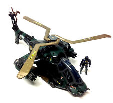 "GI JOE Action Force Massive 18"" HELICOPTER GUNSHIP toy for 3.75"" figures NICE"