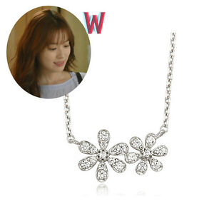 Details about [STONE HENGE]K0848_Silver_Necklace/Drama W/Han Hyo  Joo/Descendants of the Sun