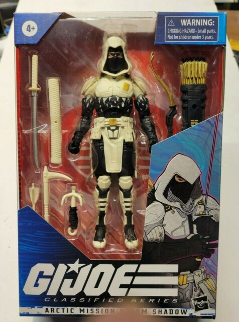 G.I. Joe Classified Series Artic Mission Storm Shadow Amazon Exclusive COBRA