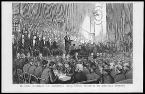 1887-Antique-Print-SCOTLAND-Edinburgh-Liberal-Joseph-Chamberlain-Music-61