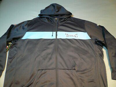 NEW NFL Med 4XL 5XL RealTree Tennessee Titans Mens Zip Jacket Camo Coat Hoodie