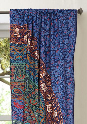 Indian Mandala Wall Hanging Handmade Boho Cotton Door Curtains Window Curtains