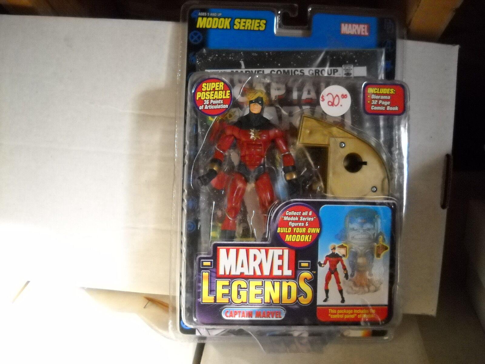Marvel - legenden figures-captain marvel
