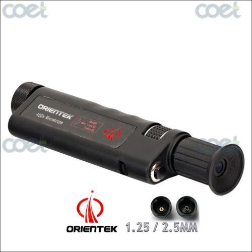 Handheld optical fiber microscope Orientek TIS-200 Inspection 200X microscope