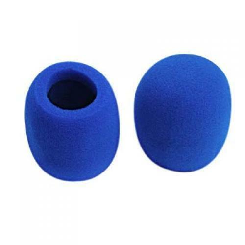 3 Paar Mikrofon Audio-Mikrofon Windschutzscheibe Windschutzscheibe
