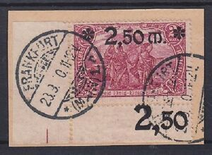 DR-Mi-Nr-118-B-Bogenecke-dgz-geprueft-Peschl-BPP-gest-Frankfurt-Briefstueck
