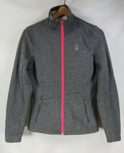 Sweater Damer Grey Zip M Sm Womens Sm Jacket Jacket Zip Up Spyder 5 Dame Gray Spyder Sweater Medium Core 18 Up M 5 Medium 18 Core Ladies qI8xXxf