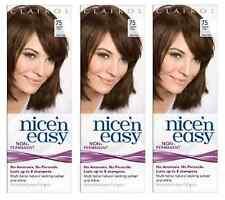 Clairol Nice N Easy Loving Care Hair Color, #75 Light Ash Brown (3 Pack)