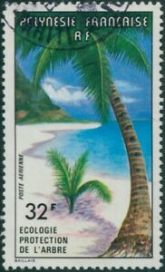French-Polynesia-1977-Sc-C152-SG260-32f-Forest-Conservation-FU