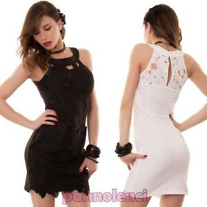 Details About Women Dress Outfit Mini Dress Embroidery Lace Flower Slim Pipe Ceremony Show Original Title