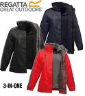 RRP £95 REGATTA LADIES 3 IN1 CHADWICK / LAGGAN WATERPROOF  JACKET