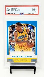 2012-Panini-LA-Lakers-Star-ANTHONY-DAVIS-Rookie-Basketball-Card-PSA-9-MINT