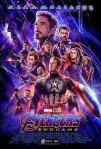 AVENGERS-ENDGAME-ONE-SHEET-MOVIE-POSTER-24x36-53184