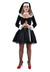 Image Is Loading Deluxe Naughty Nun Costume Saucy Sister Sizes 6