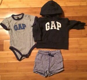 2e2ff8b5a8ae GAP Baby Boy Shirt And Short Lot Size 6-12 Months